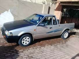 Bakkie is in good running condition license up to date