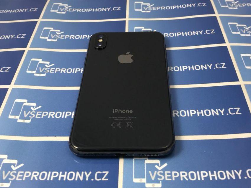Záruka 2 roky, iPhone X 64GB space grey šedý 0