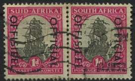 South Africa 1d Stamp