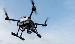 Грузовий дрон коптер беспілотник квадрокоптер для перевозки груза