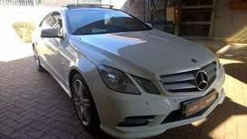 Mercedes Benz E250 coupe amg pack