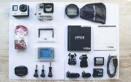 GoPro Hero 4 Silver plus akcesoria filtr polaryzacyjny Kamera go pro