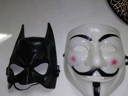 Новые наборы 2 маски: Бетмен маска Бэтмен + Гай Фокс Анонимус Вендетта