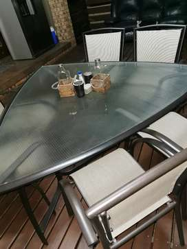 6 seater outdoor table
