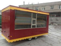 Торговые прицепы продажа Киев-Днепр доставка в любой город Украины