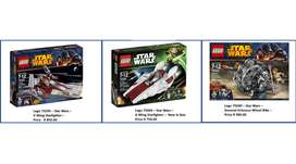Lego - Star Wars Collection For Sale
