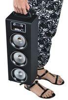 Głośnik duży przenośny z bluetooth USB radio FM podłącz pod telefon
