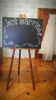Оренда мольберту для весілля