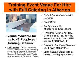 Traning Venue with Catering