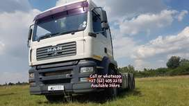 2009 MAN TGA26-480 Double diff truck up for grabs !!