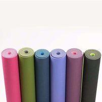Коврик для йоги цена 450 грн (двухсторонний) ТРЕ Eco 6мм изготовлен и