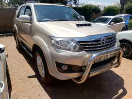 2013 Toyota fortuner 3.0 D4D with 63000km