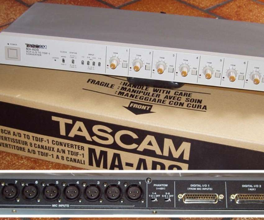 Wanted Tascam MA-AD8 Analogue to TDIF-1