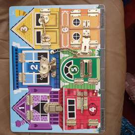 Melissa & Doug doors toy