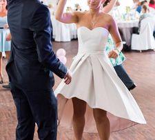 Piękna suknia balowa - idealna na ślub lub poprawiny