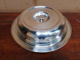 Beautiful old EPNS serving dish & lid.