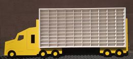 Duża Półka na resoraki Tir ciężarówka 110 szt140cm