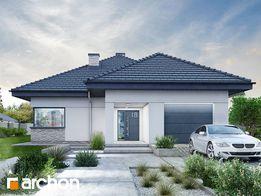 Современный проект европейского стиля – дом + гараж. (Казацкий проспек