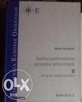 Analiza porównawcza systemów politycznych tom 1 Marek Śliwiński