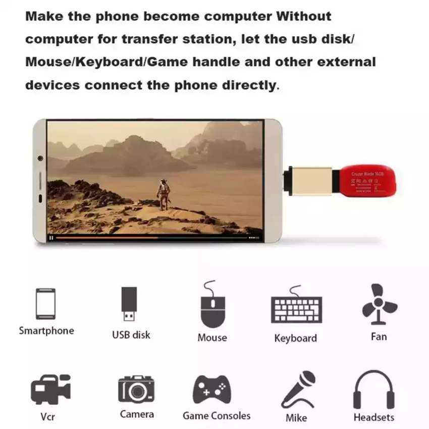 Connect your pendrive to phone easily 0