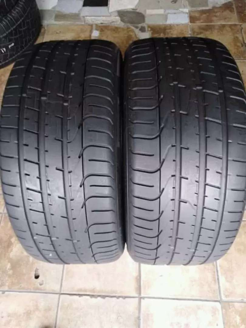 2 × 255 / 35 / 20 pirelli tyres for sale