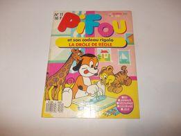 Журнал детский Pifou, Франция, 1989