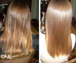 Кератиновое выпрямленение волос на дому (у вас или у меня)