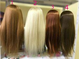 Учебный манекен волосы ТЕРМО Учебная голова. Болванка для парикмахеров