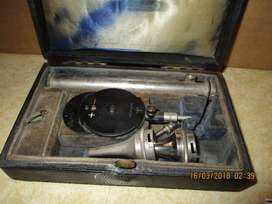 Old otoscope and opthalmoscope