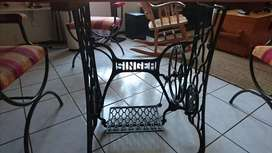 Antique Singer Table and Chairs