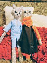 Котики хюге няшні котики игрушки кошечка кот