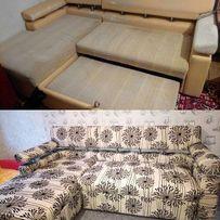 Кресло, кухонный уголок, диван перетяжка