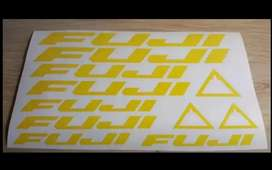 Fuji frame stickers decals graphics kits