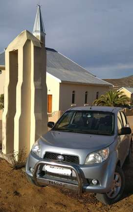 2007 Daihatsu Terios 4x4, Low mileage, Immaculate condition.