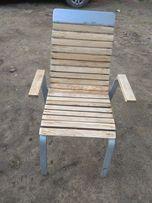 Krzesła, balkon, ogród, bar, przygotowane do malowania