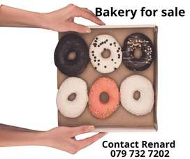 Bakery for Sale with coffee shop