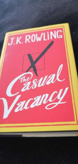 The Casual Vacancy by J K Rawling Rawling