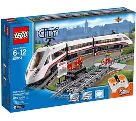 LEGO 60051 City High-speed Passenger Train Set. New