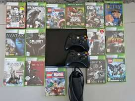 Xbox 360 with 15 games!