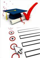 Выполню онлайн тест по английскому языку, пройду онлайн курс