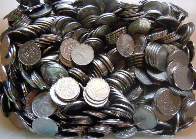 Монети по2 копійки - 1000 монет