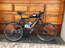 Ecotrax Bicycle with Engine for sale