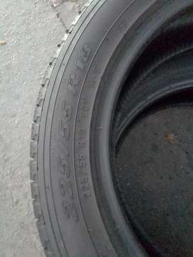 2 quality used tyres for sale 225/55/R18 Pirelli Scorpion Verde