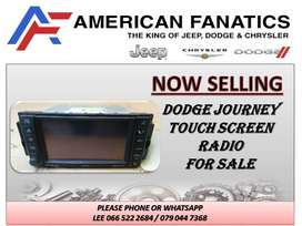 DODGE JOURNEY TOUCH SCREEN RADIO FOR SALE