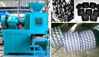 Image of Charcoal Briquettes Making Machines
