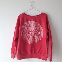 Czerwona bluza Coca Cola rozm. 38-40