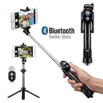 Монопод штатив фото відео селфі + Bluetooth пульт + тримач телефону