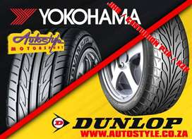 assorted size tyres and brands in stock, brand new
