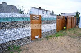 Gabion gabiony gambion gambon ogrodzenie gabionowe z gabionów kamień