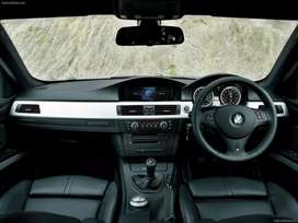 BMW e92 m3 dashboard with sat nav